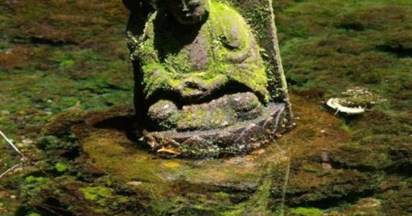Buddha Statue Japan Wonderful Place For A Statue Garden Design Pinterest Zen