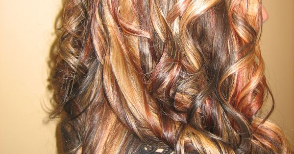 Multi Hair Color Styles: Dramatic Multi-color Hair Highlighting By Mary B., Crystal