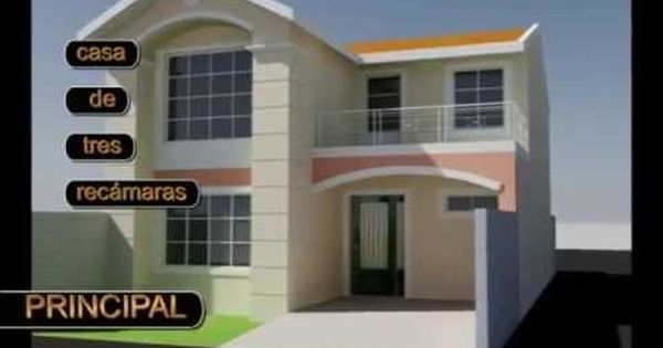 Casa Ejemplo P X2f Terreno 8x20 M Trazzos G Hotmail Com Youtube House Styles House Plans House