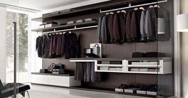 Modern Italian Walking Closet System Men 39 S Fashion