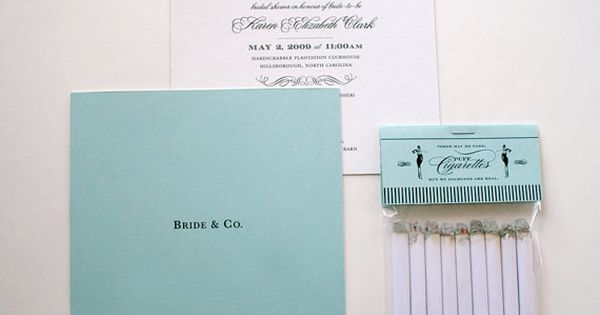 Breakfast at Tiffanys Bridal shower-- invite layout