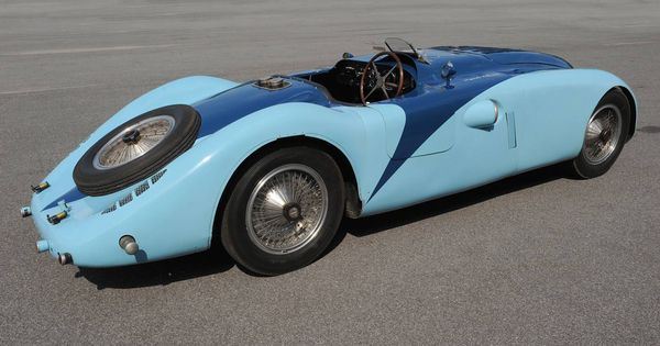 Bugatti Type 57g Tank 1936 French Racing Blue Cars