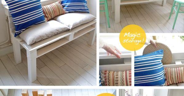 Diy pallet sofa d co mexicaine far west pinterest for Petit canape palette