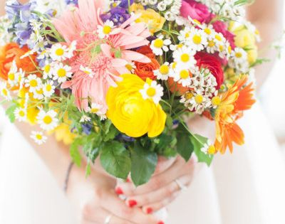 Bridal bouquet - photo