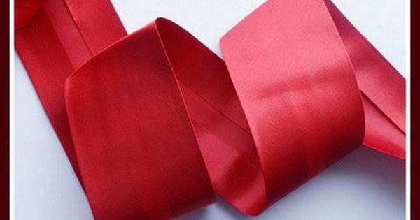 Lamowka Atlasowa 60 Mm Nr 49 Czerwona 5510881930 Oficjalne Archiwum Allegro Fashion 60th Accessories