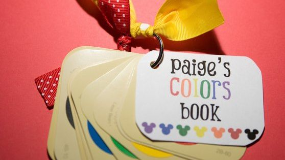 Paint Swatch Color Book