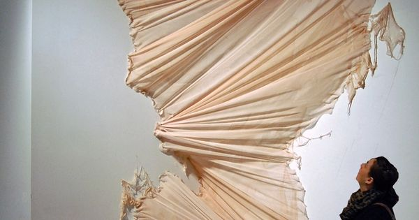 fabric installation by carlie trosclair