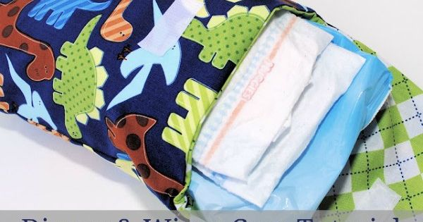 Diaper and Wipes Case Tutorial - cute baby gift