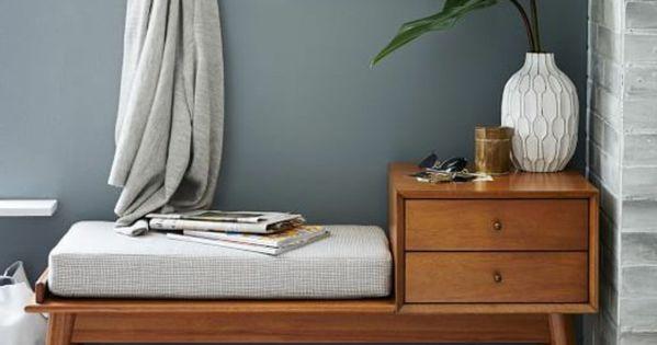 banc de rangement petite banquette de rangement entr e tlse pinterest banc de rangement. Black Bedroom Furniture Sets. Home Design Ideas