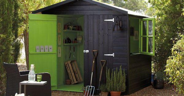 Construire son abri de jardin en boisu2013 astuces et photos Planters - construire une cabane de jardin en bois