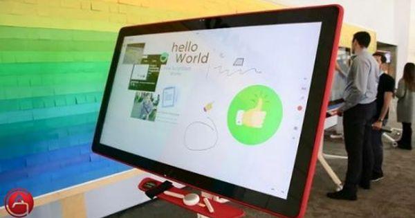 لوح الكتابة اللمسي الذكي Jamboard من جوجل الاخبار التقنية Http Lnk Al 3wt7