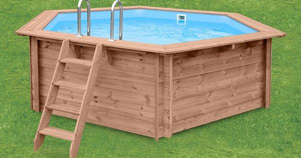 Fancy F r eine nat rlichen Landstil Atmosph re im Garten sind unsere Swimmingpools aus Holz die ideale Wahl pool swimmingpool schwimmbecken holz Pinterest