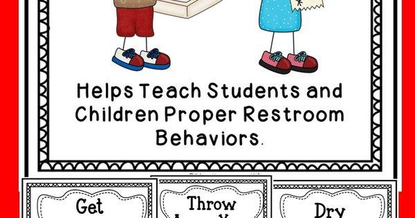 Restroom procedures help teaching - Bathroom procedures for preschool ...