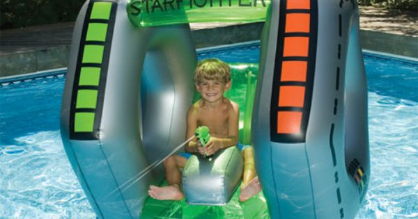 Starfighter Inflatable Squirter Awesome Where Was This