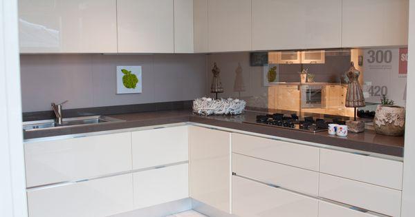 Cucina moderna scavolini composizione ad angolo bianca - Composizione cucina ad angolo ...