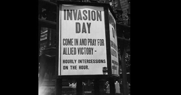 d day invasion city