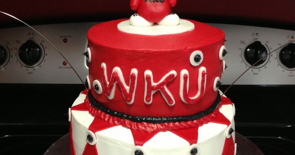 Western Kentucky University Wku Birthday Cake Sweet