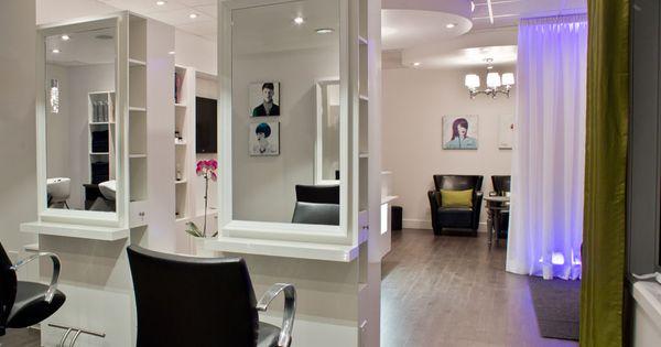 Salon de coiffure mobilier moderne salon de coiffure for Salon de coiffure miroir