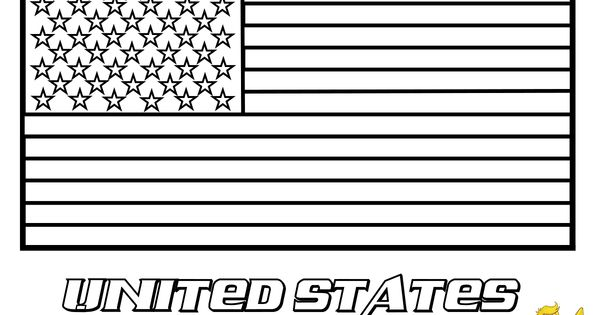 usa flag coloring pages free large images coloring