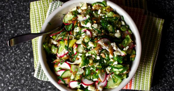 Feta, Met and Feta salad on Pinterest