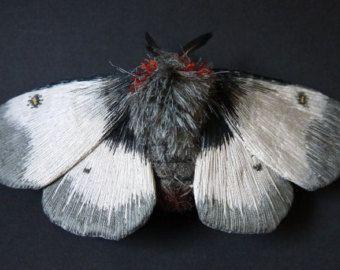 Stoff Skulptur Grosse Primrose Motte Textilkunst Textil Skulptur