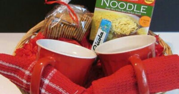 Get Well Basket Do It Yourself Gifts Pinterest Gift