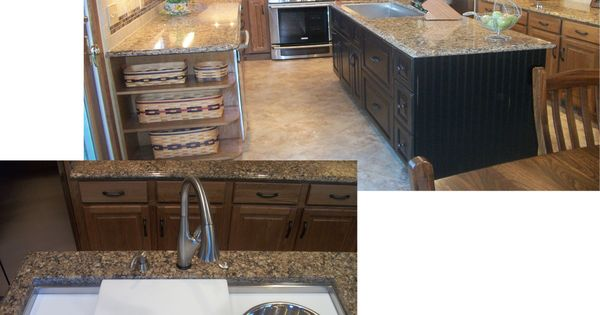 In This Kitchen We Installed A 4 Ft Galley Sink In The