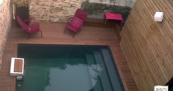piscine de petite taille piscine xs mini piscine piscinelle pools pinterest small. Black Bedroom Furniture Sets. Home Design Ideas