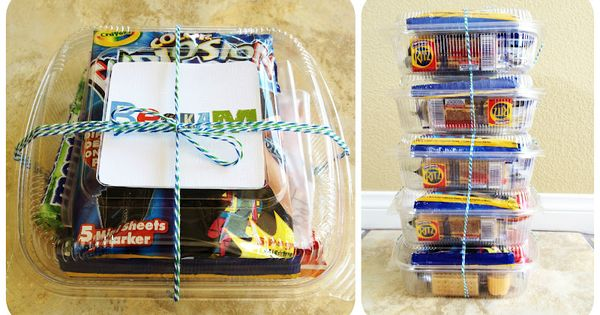 eighteen25- Travel Kits and ideas to keep the children entertained on long