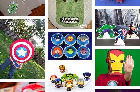 The Avengers Craft & Party Ideas! Love the Free Printables and fun
