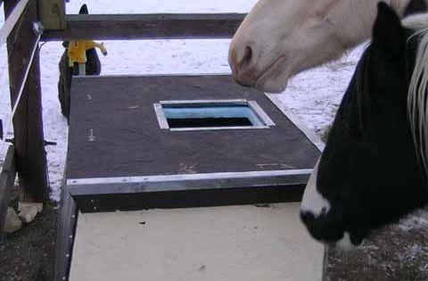 Diy Solar Heated Water Trough Horses Pinterest The