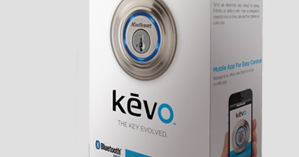I Already Love My Keypad Door Locks But This Looks Awesome Kevo Uses Your Smart Phone As A Key Smart Lock Kwikset Kevo Smart Home