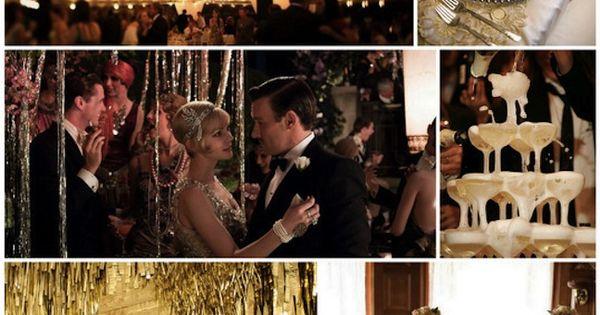 Linen, Lace, & Love: Great Gatsby Themed party thegreatgatsby 1920s artdeco Gatsby