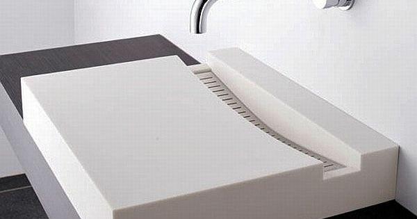 Zen badezimmer waschbecken design quadratisch waschtisch for Badezimmer quadratisch