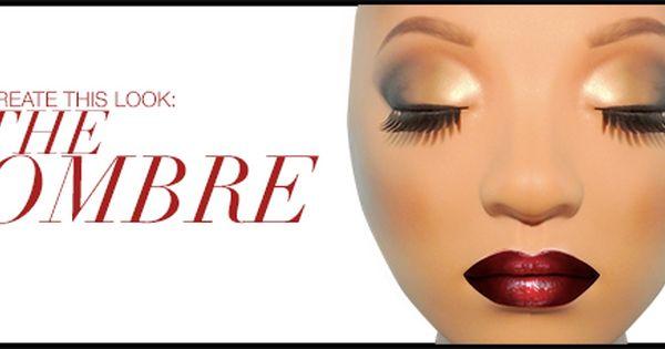 Makeup Mannequin Look The Ombre Look Jpg 492 229 Professional Makeup Kit Makeup Kit Makeup