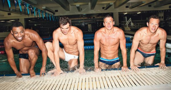 God bless the USA. Just.... god bless. Our swimming team is.... holy.