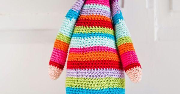 Crochet doll amigurumi crochet