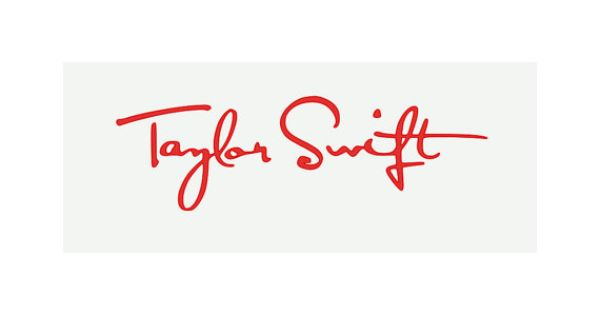 Taylor Swift Signature Vinyl Decal Sticker By