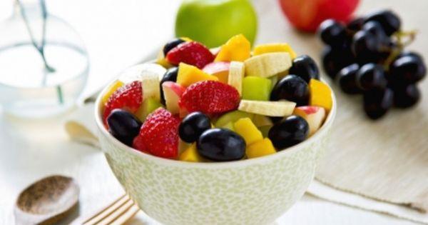 طريقة عمل سلطة فواكه بالصور Recipe Fruit Salad Fruit Salad