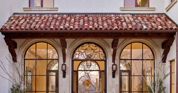 Mediterranean tuscan home house foot massage pinterest for Mediterranean style architecture characteristics
