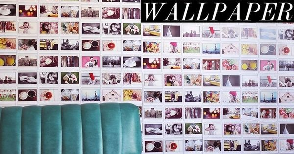 Or, if you want to go whole-hog, wallpaper. | 20 Non-Scrapbook Ways