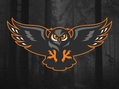 Atlantes Owl Logo Art Logo Animal Logo