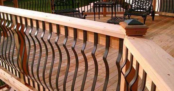 Deckorators Baroque Aluminum Deck Balusters Deck Railing Design Deck Balusters Railing Design