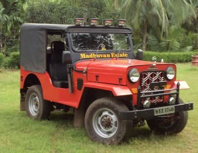 My Dad S Red Mahindra Jeep Mahindra Jeep Jeep Engine Types
