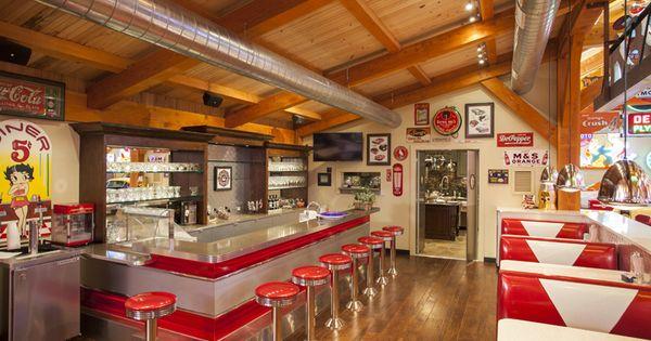 Man Caves Rockport Tx : Texas timber frames hemi hideout car barn diner