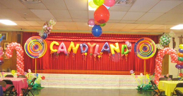 What could be more fun that a candyland themed party with for Candyland bedroom ideas