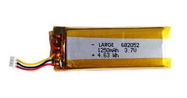 Pl682052 3 7v 1250mah Polymer Lithium Batteries Lithium Battery Polymer Batteries