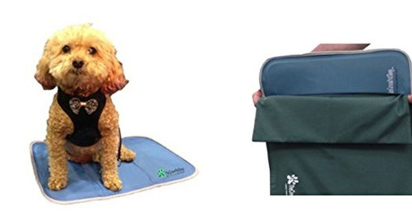 The Green Pet Shop Small Dog Cooling Pad And Small Dog Cooling Pad