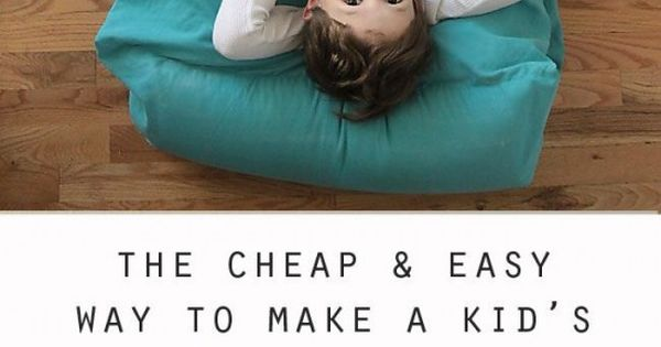 Easy To Make Floor Pillows : DIY Floor Pillow Bed Easy To Follow Video Instructions Pillow beds, Pillows and Tutorials