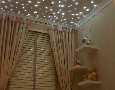 star ceiling good idea for in a babys room